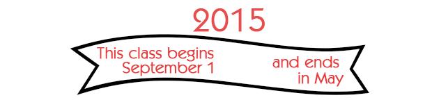 class dates 2015